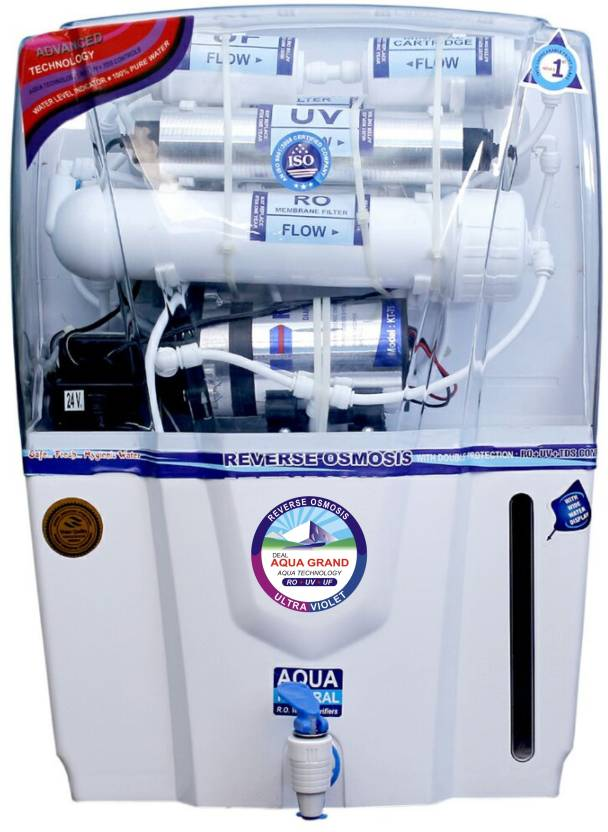 13b2b5762 Aquagrand AUDY 12 L RO + UV + UF + TDS Water Purifier - Aquagrand ...