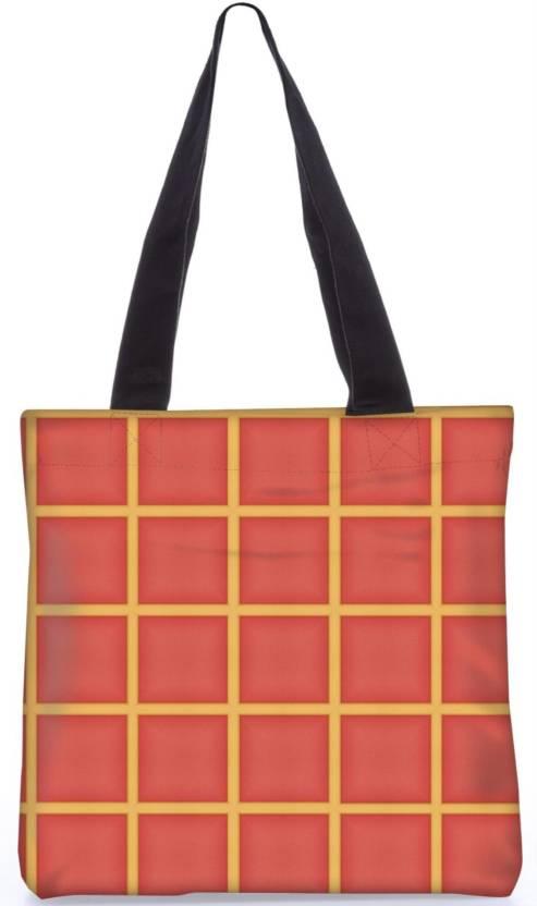 cc716079504e Snoogg Indian Pattern Poly Canvas Fashion Handbag Shopping Shoulder Lunch  Tote Bag For Women 22056 Shoulder Bag (Multicolor