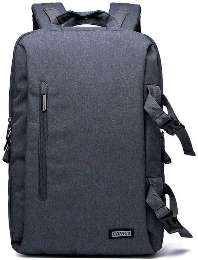 b61a917e731 Caden L5 Professional DSLR Camera Multifuction WaterProof Shockproof  Backpack (Dark Grey) Camera Bag (Dark Grey)