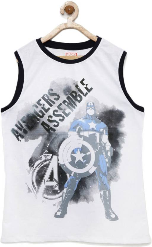 691031e15 YK Marvel Boys Printed Polyester T Shirt Price in India - Buy YK ...