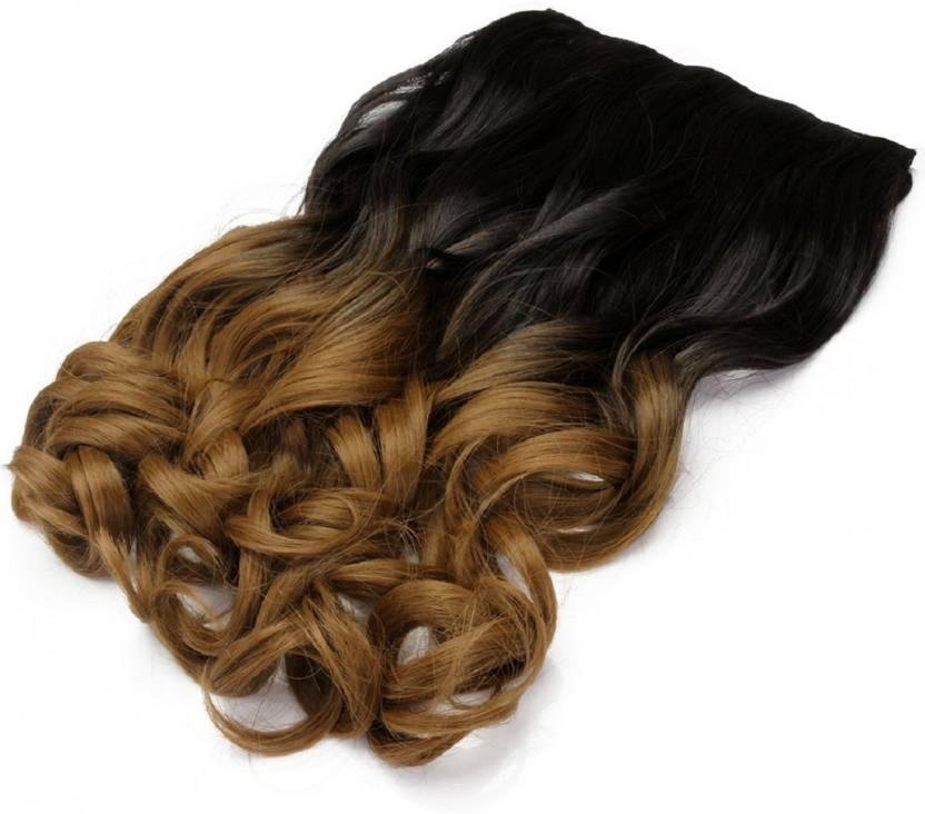 Haveream Half Blonde Clip In Hair Extension Price In India Buy