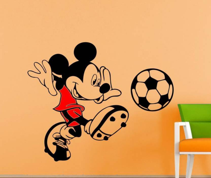 . MADHUBAN D COR Small mickey mouse Wall Decal   sticker Sticker Price