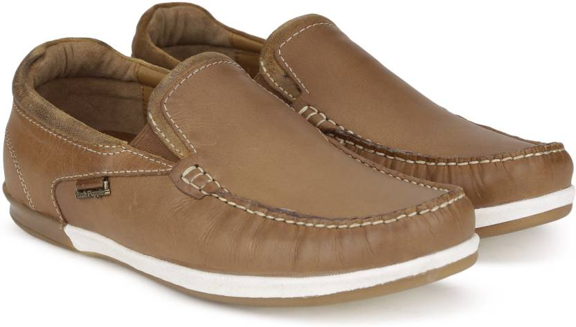 a73dde0ffc78e Hush Puppies By Bata ZEAL SLIP ON Loafers For Men - Buy Tan Color ...