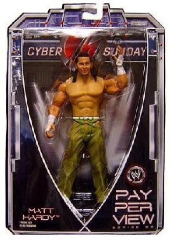 WWE Wrestling WWF Match Enders Matt Hardy Action Figure