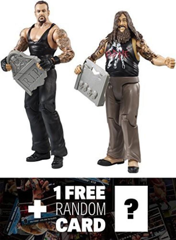 WWE Smack Down Battle Pack Bray Wyatt /& Undertaker Action Figures