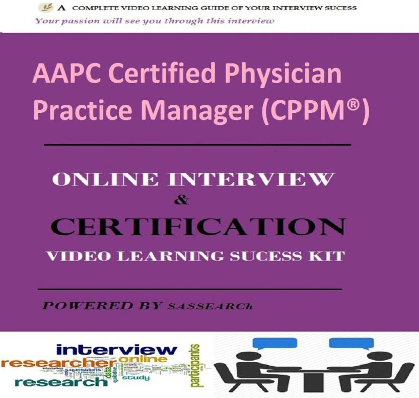 SAPSMART AAPC Certified Physician Practice Manager (CPPM®) Online ...