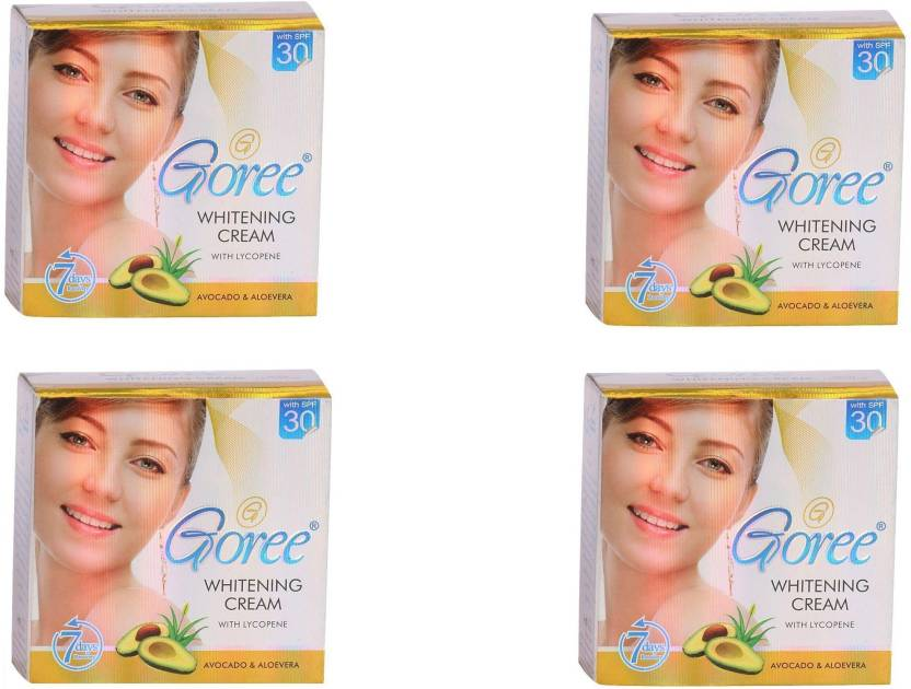 Goree cream Whitening Skin Care Fairness Cream Pack Of 4