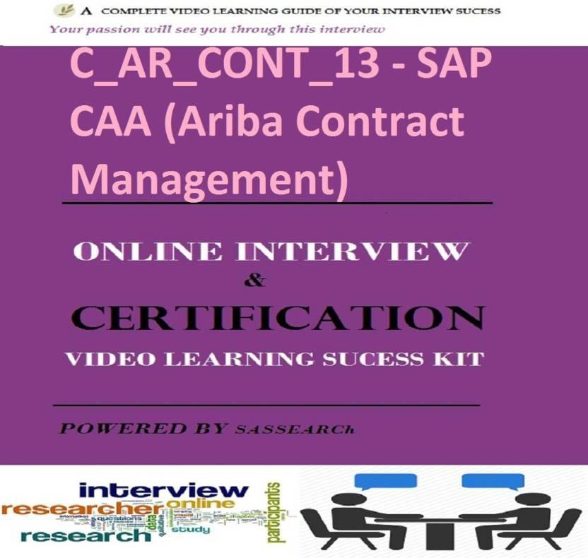 sapsmart c_ar_cont_13 - sap caa (ariba contract management) online ...