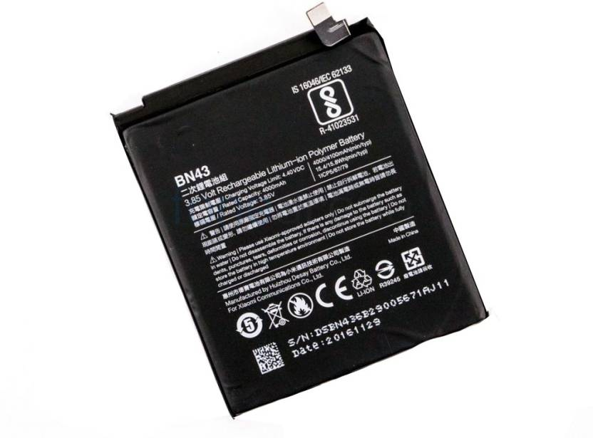 Dawn Mobile Battery For 100% Original Battery BN43 For Xiaomi Redmi Note4 Price in India - Buy Dawn Mobile Battery For 100% Original Battery BN43 For Xiaomi ...