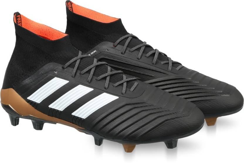 new concept 48f43 4d799 ADIDAS PREDATOR 18.1 FG Football Shoes For Men (Black)
