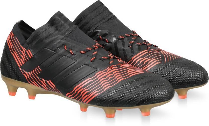 d3037d16e563 ADIDAS NEMEZIZ 17.1 FG Football Shoes For Men - Buy CBLACK/CBLACK ...