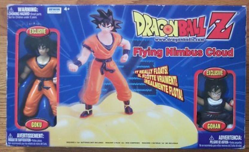 Dragon Ball Z Figure Stomp Cycle with Goku