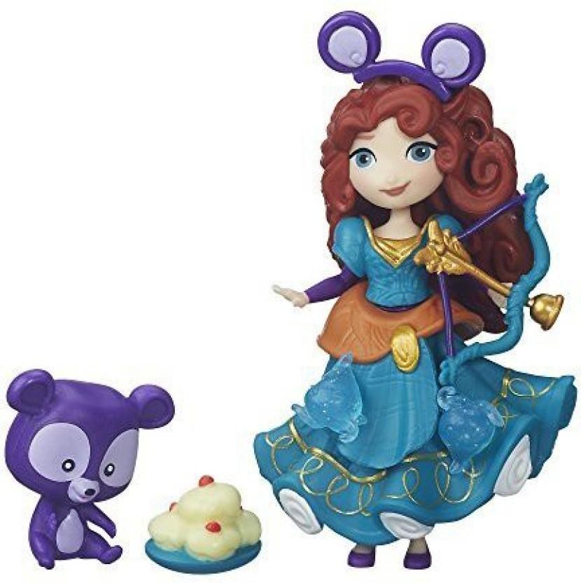 Disney Princess Merida Little Kingdom Snap-In Doll Figure Toy