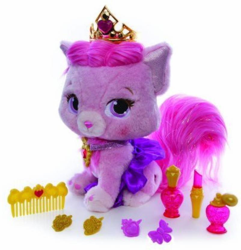 dcbebd50db6 Blip Toys Disney Princess Palace Pets Pamper Me Pretty Aurora Kitty Beauty  (Multicolor)