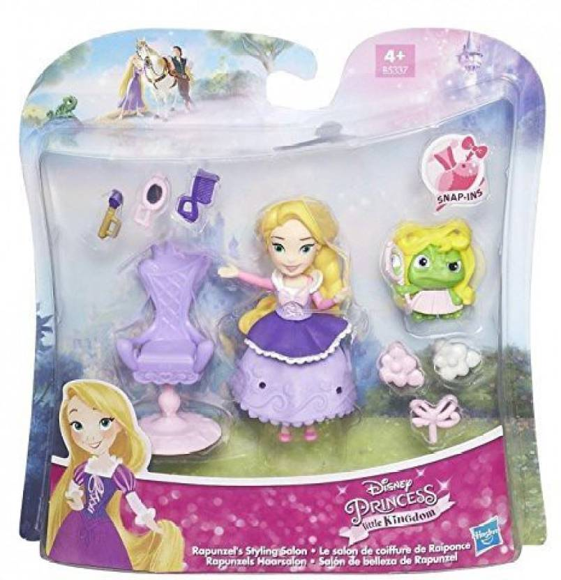 1ff02f33b Carousel Disney Princess Little Kingdom Snap In Playset Rapunzel S Styling  Salon (Multicolor)