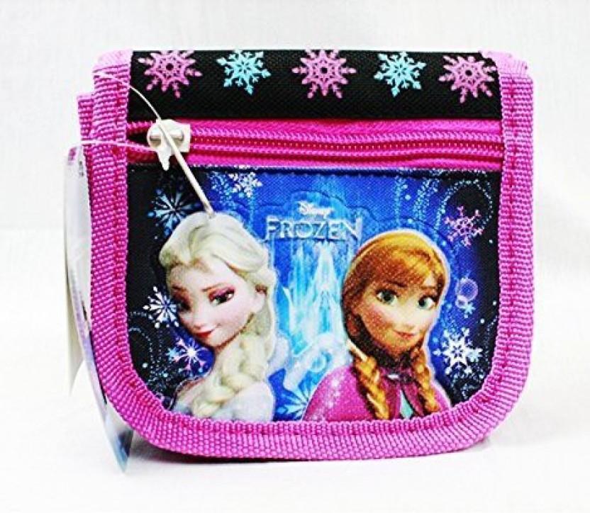 Disney Frozen Elsa and Anna Mini Coin Purse Blue