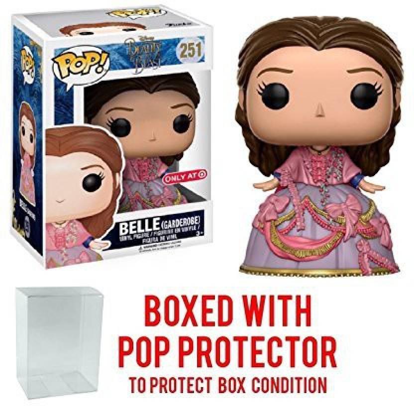 Pop Protector Funko Pop Disney Beauty & The Beast Target Exclusive Belle Garderobe Vinyl Figure Bundled With Pop Box Protector Case (Multicolor)