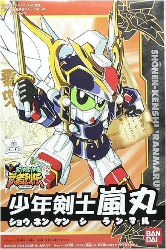 Bandai Shonen Kenshi Ranmaru Sd Gundam Force Emaki Musha