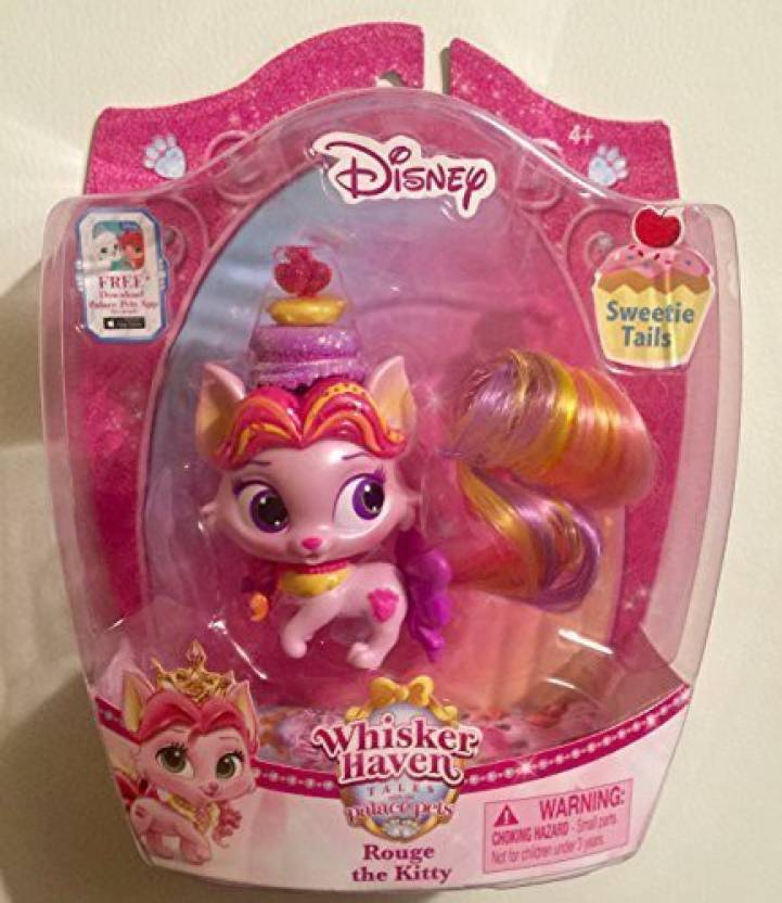 15a90754d05 Blip Toys Disney Princess Palace Pets Whisker Haven Tales Sweetie  Tailsrouge The Kitty (Multicolor)