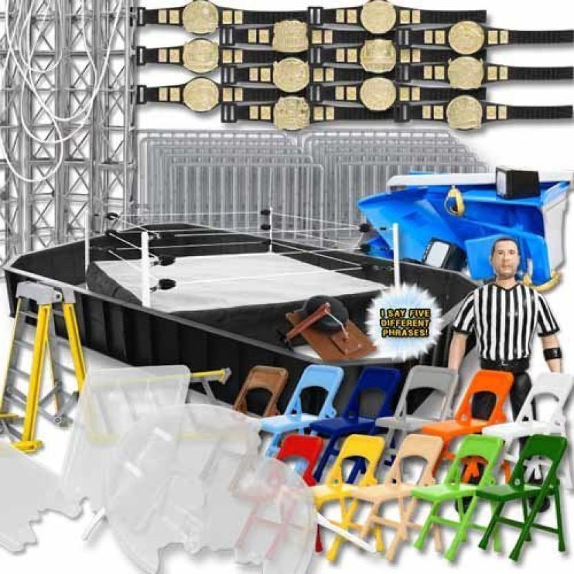 Wrestling Figure Gear Deal 12 TV Lights For WWE Figures Headphone Camera