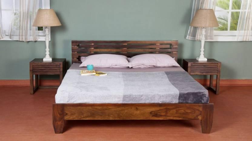 Vintej Home Moroni Sheesham Solid Wood King Bed