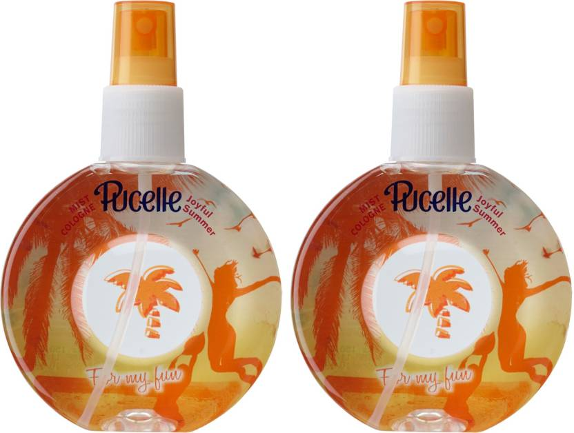 ba95e6a6 Pucelle Mist Cologne Joyful Summer Pack of 2 Body Mist - For Women ...