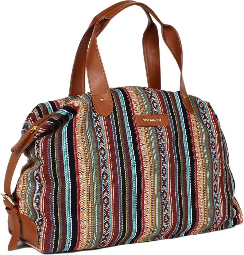 The Maker Handbag For Women Travel Duffel Bag