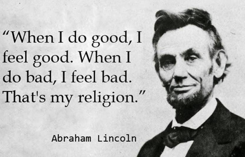 Abraham Lincoln S Motivational Poster Photographic Paper