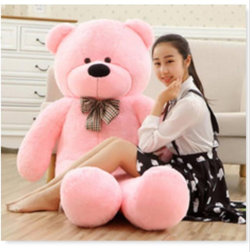 jiokard pink 6 feet teddy bear soft toy with heart for love