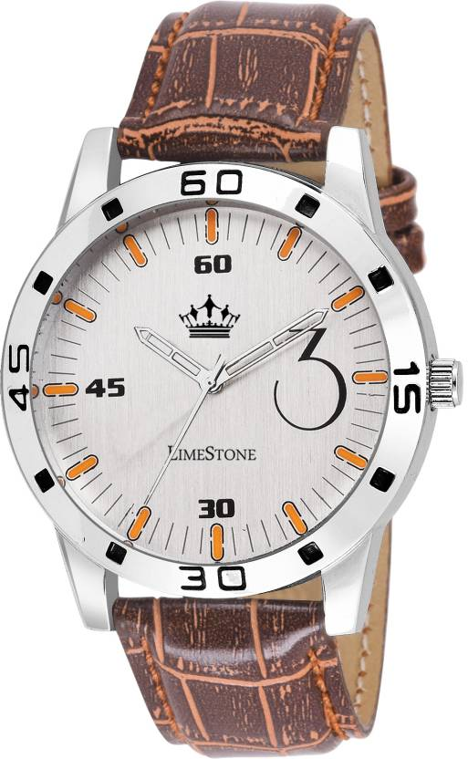 LimeStone LS2688 Free Size James Bond style Watch - For Men