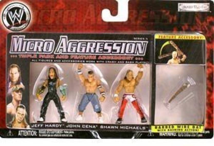 Jakks Pacific Wwe Wrestling Micro Aggression Series 5 Figure 3 Pack
