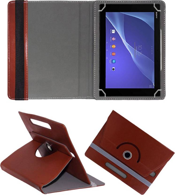 Fastway Book Cover for Sony Xperia Z2 Tablet LTE Wifi Brown, Cases with Holder