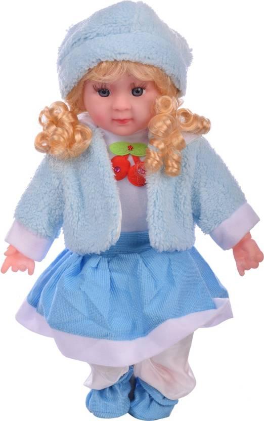 Aarushi Doll Stuffed Soft Plush Toy Girl Doll (Blue) - Doll Stuffed ... 646df0b826