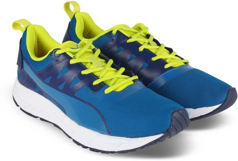 c5f288d6abd4 Puma Valor Running Shoes For Men - Buy BLUE DEPTHS-MYKONOS BLUE-NRGY ...