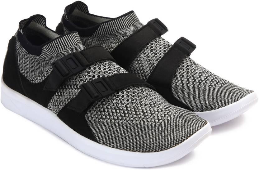 aa196429d927f Nike AIR SOCKRACER ULTRA FK Sneakers For Men - Buy BLACK PALE GREY ...