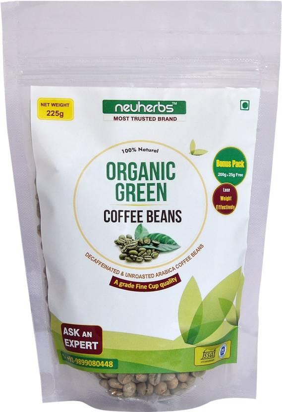 Neuherbs Organic Green Coffee Beans Powder for Weight Loss