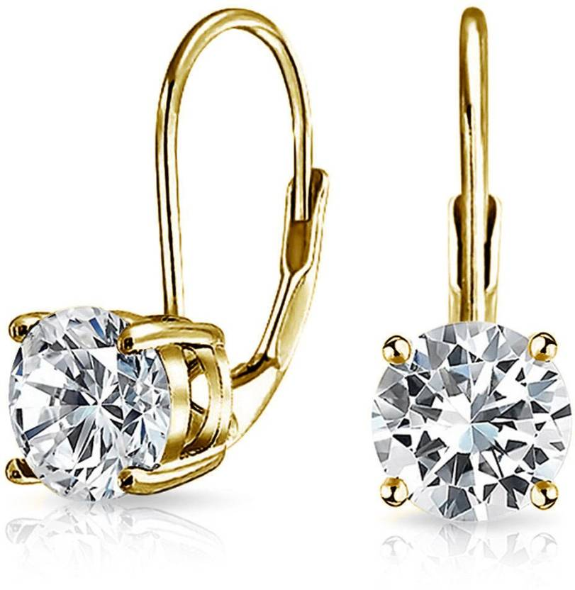 8644cc9c1714d Flipkart.com - Buy Bling Jewelry Gold Plated Sterling Silver CZ ...