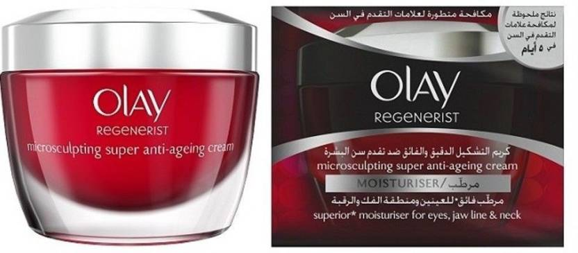 89bd7ad4a41 Olay Regenerist MicroSculpting Anti aging Cream ( 50 Ml ) - Price in ...