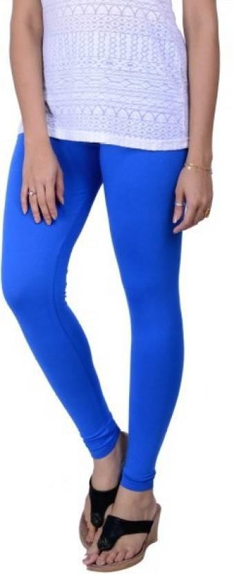 b85897d801 Lux Lyra Women's Ankle Length Leggings-Royal Blue Ankle Length Legging