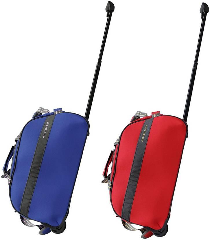 Aristocrat dream dft Duffel Strolley Bag multicolor - Price in India ... 46f275a586ff2