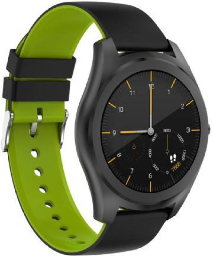 5922c7c68 Diggro DI03 Siri Smart Watch Ultra-Thin IP67 Android IOS Silicone Strap  Smartwatch (Black Strap Free Size)