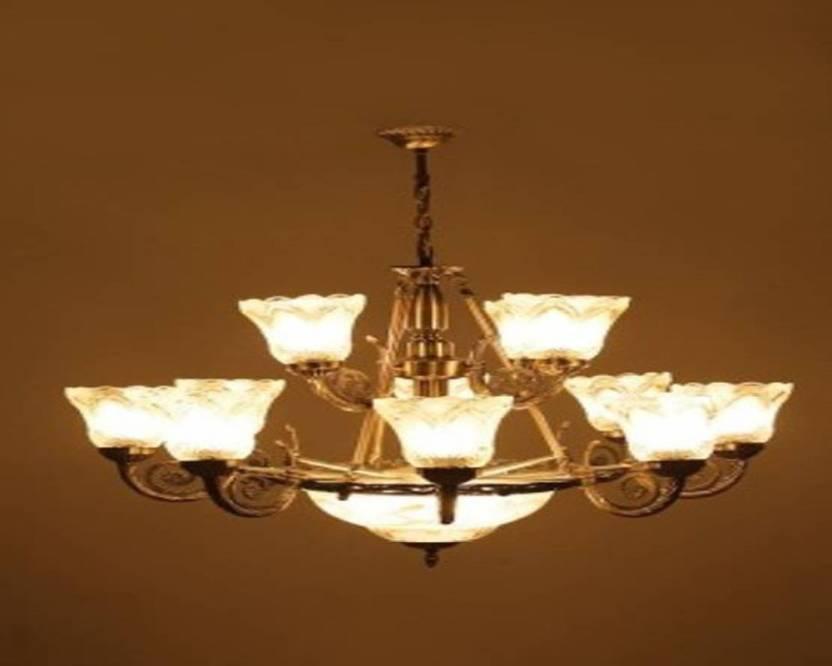 Creaze Antique Design 12 Light Chanlers Chandelier Ceiling Lamp