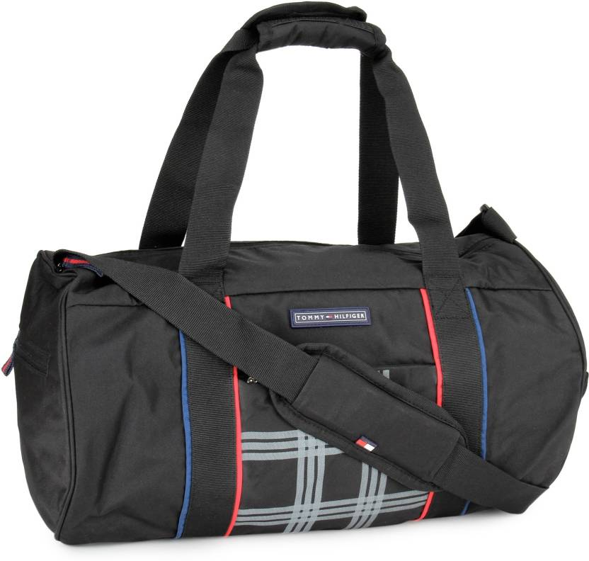 4108663be4cf Tommy Hilfiger 20 inch 51 cm DAZZLE LITE Travel Duffel Bag BLACK ...
