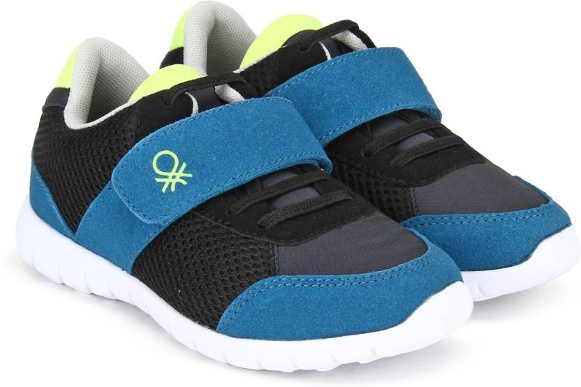 7d849dfbfaf3 United Colors of Benetton Boys Velcro Sneakers Price in India - Buy ...