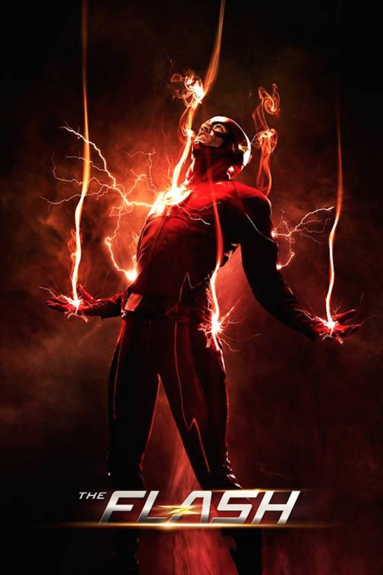 8334c7194 The Flash Poster (Size 12 Inch x 18 Inch) (Pack of 1) Paper Print (18 inch  X 8 inch