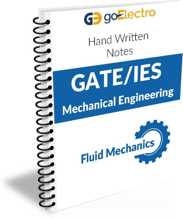 Fluid Mechanics Made Easy Hand Written Notes For Gate , IES And PSU