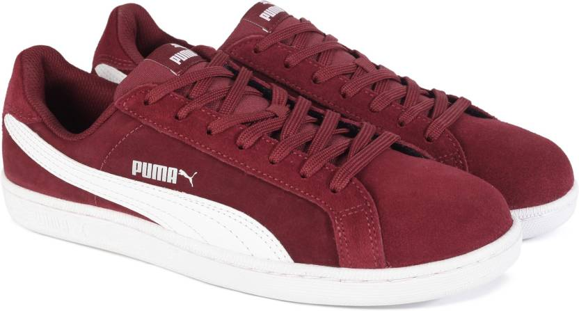 0c779351b33 Puma Smash SD Sneakers For Men - Buy Tibetan Red-Puma White Color ...