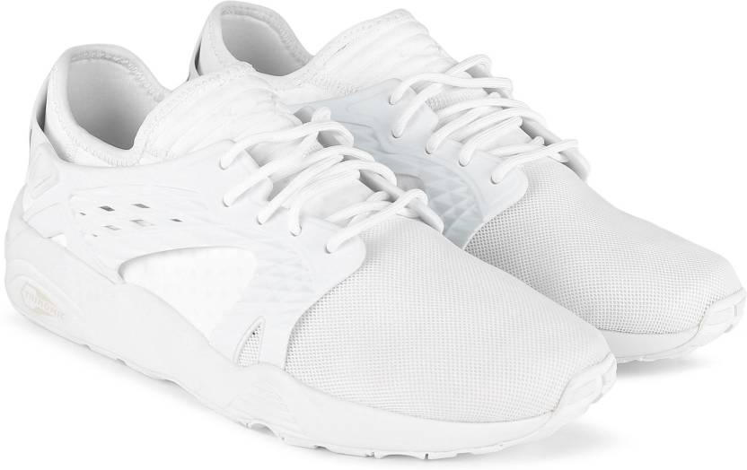 Puma Blaze Cage Mono Sneakers For Men - Buy Puma White-Puma White ... c6af2f9b9