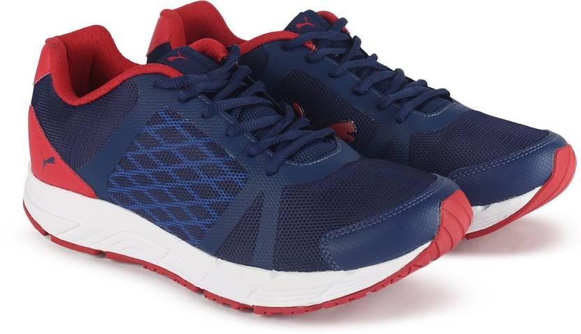 b9cd449d5b81 Puma Sigma Running Shoes For Men - Buy TOREADOR-BLUE DEPTHS-WHITE ...