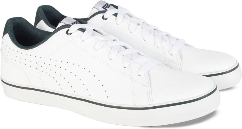 daa938ad2a5a31 Puma Court Point Vulc Perf V2 Sneakers For Men - Buy Puma White ...